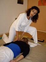 Salima Ciccariello spécialiste en shiatsu